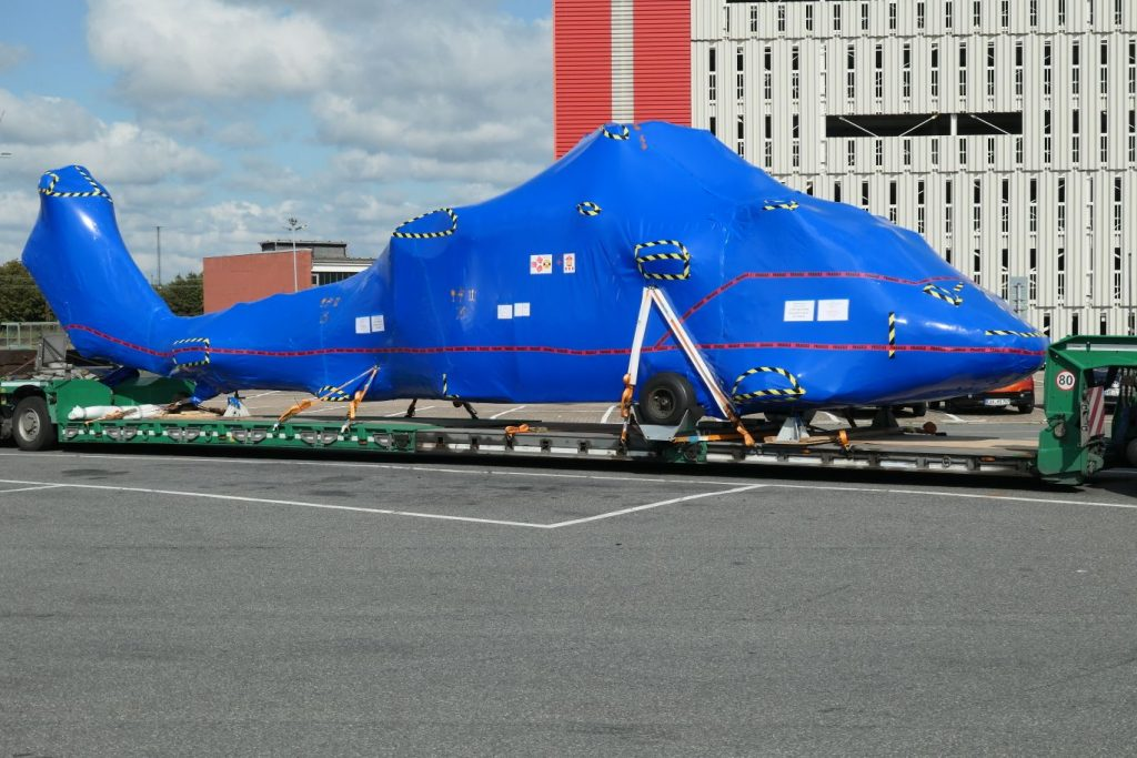 Tag 47 Bremerhaven Hubschraubertransport